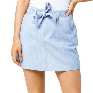 💥HP Sky and Sparrow Chambray Belted Skirt 5 | 11